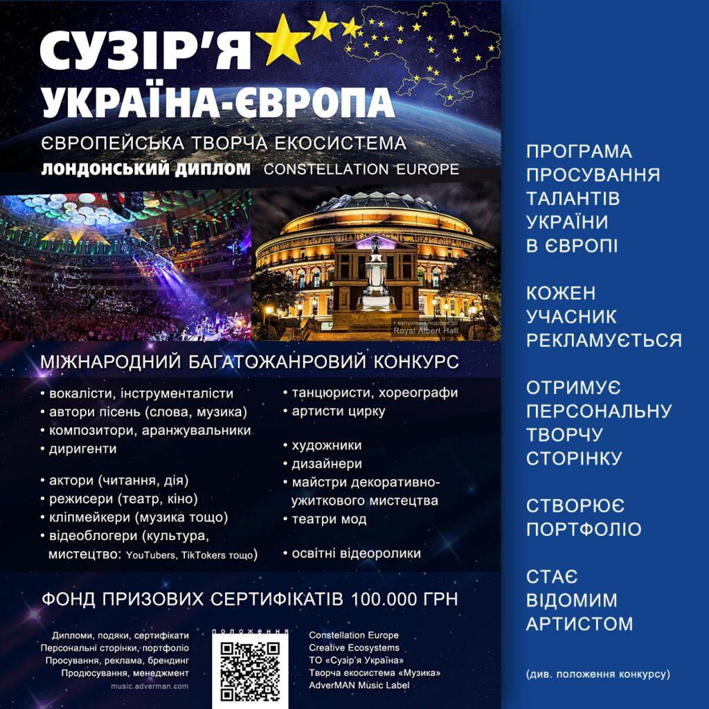 Сузір'я Україна-Європа – конкурс