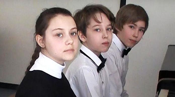 «Фортепіанне тріо» (Дмитро Сидоров, Олена Король, Володимир Приставко)