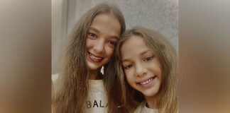 Nastya and Veronica Protsenko