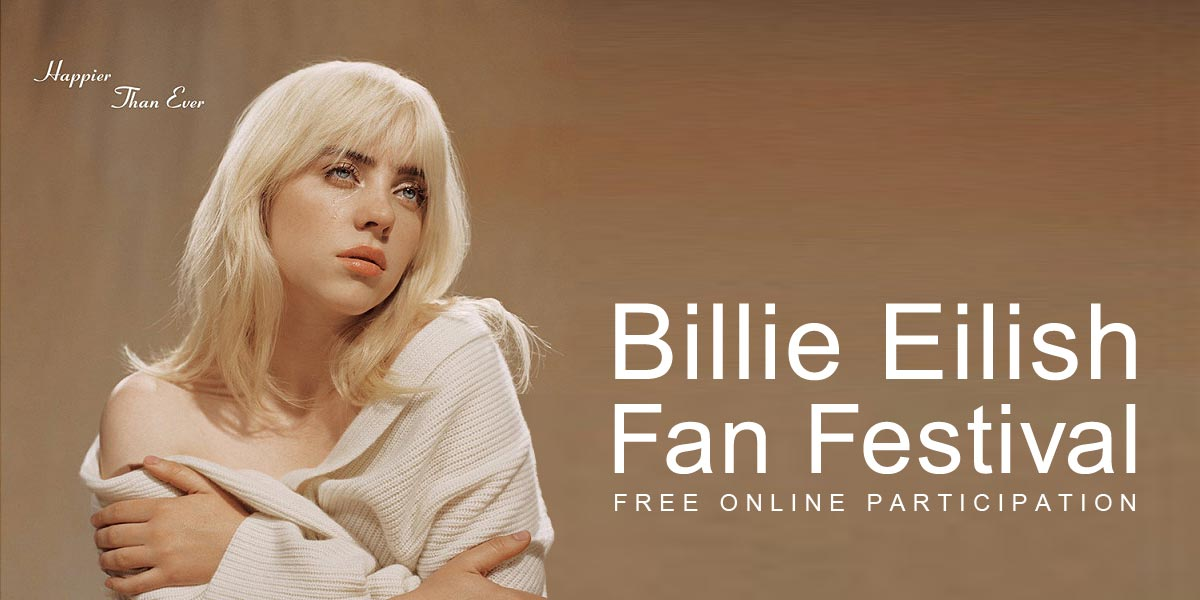 Billie Eilish Fan Festival   Конкурс двотуровий міжнародний. Творча екосистема Музика   Constellation World Talent Network